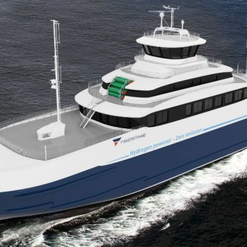 ABB, SINTEF & Fiskerstrand test fuel cells for hydrogen hybrid ferry conversion