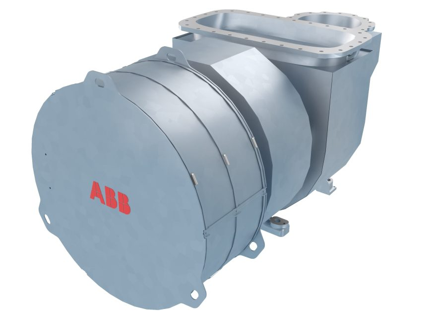 ABB launches compact turbochargers for low-speed marine engines