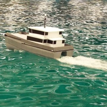 Chartwell Marine wins design contract for hybrid catamaran