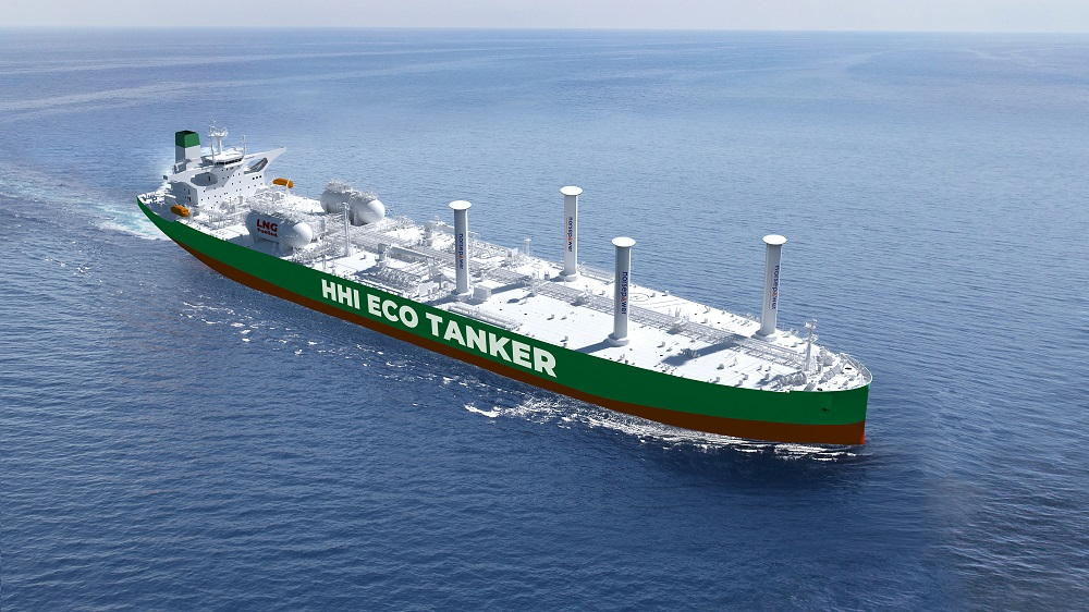 HHI receives LR AiP for LNG and wind powered VLCC – VPO