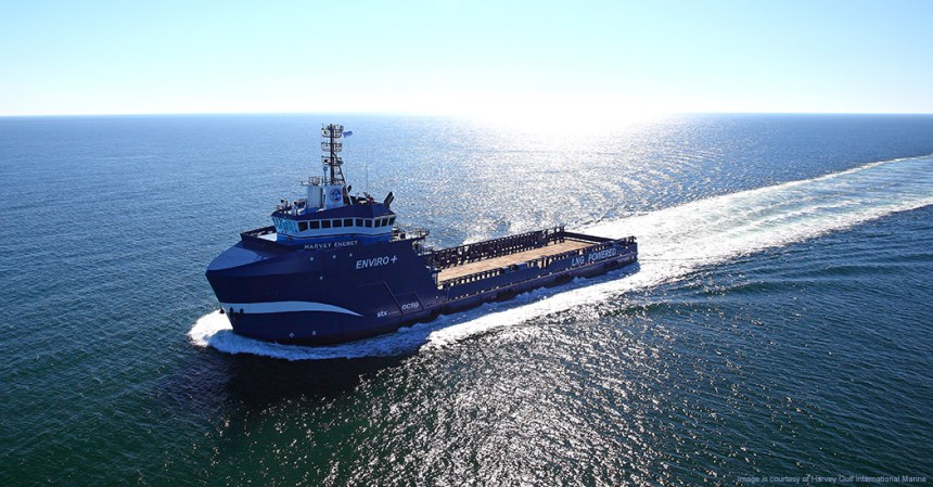 Harvey Gulf tri-fuelled vessel classed by ABS