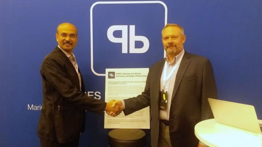 PBES and Sterling & Wilson announce partnership