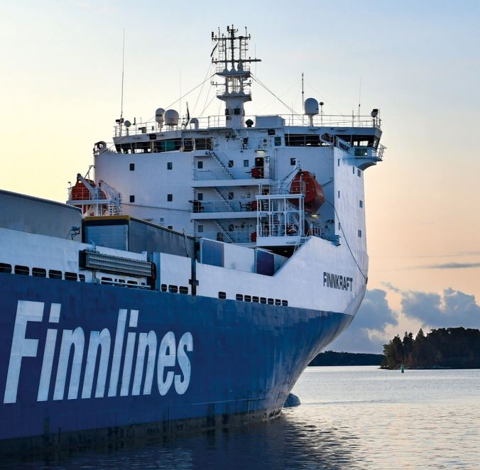 Finnlines cuts CO2 emissions by 30 per cent
