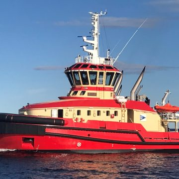 Escort tug takes delivery of Wärtsilä hybrid power solution