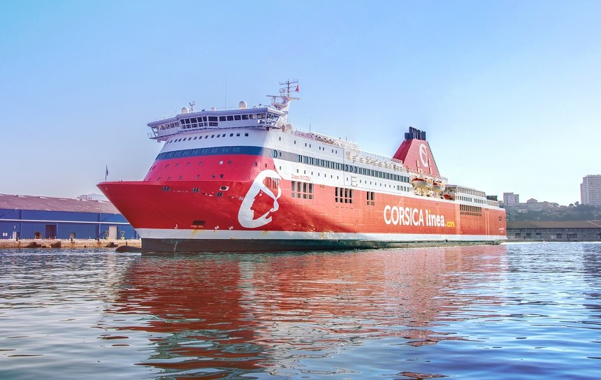 Corsica cuts port emissions with ABB shore power system