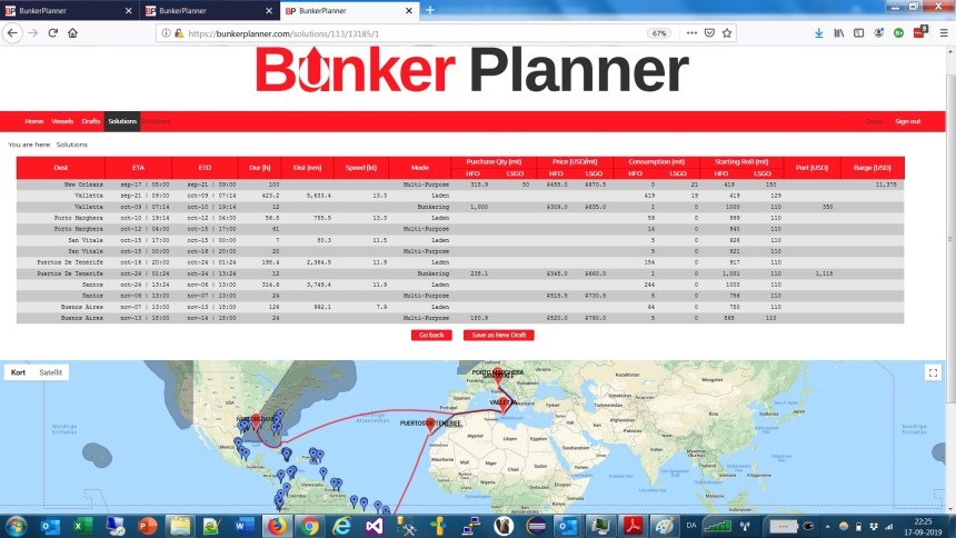 BunkerMetric adds new functionality to bunker planning solution