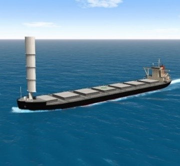 MOL and Oshima granted AiP for hard sail system
