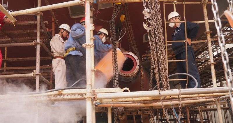 Chinese shipping companies favour water lubricated propulsion system