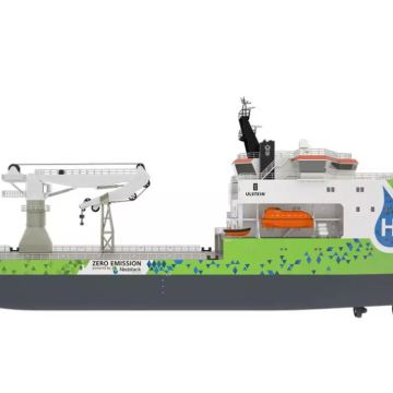 Ulstein leads the way in zero-emission offshore construction market