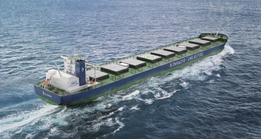 ABS Grants AIP to Deltamarin and GTT for dual-fuel newcastlemax design