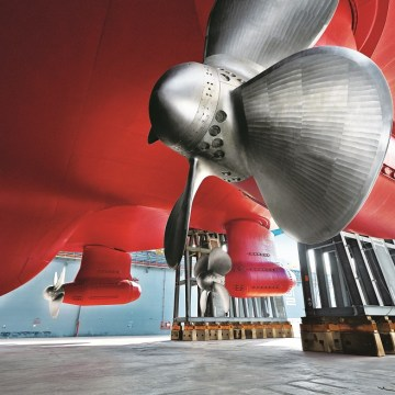ABB completes electric propulsion delivery for advanced icebreaking fleet