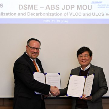 ABS and DSME agree to design vessels to meet IMO 2030 decarbonisation goals