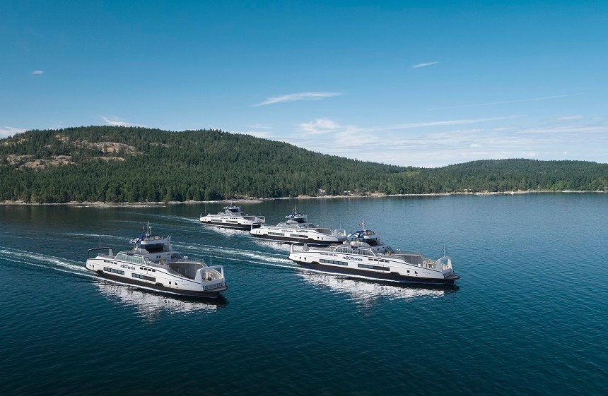 BC Ferries opts for SCHOTTEL propulsion units