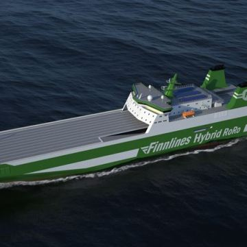 Three Finnlines newbuilds go green with Wärtsilä hybrid systems