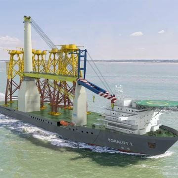 Boskalis converts hull with Wärtsilä thruster solution