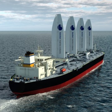 Becker Marine introduces wind power project