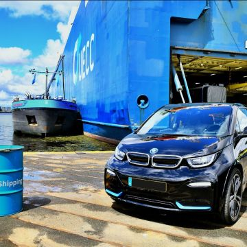 BMW Group joins UECC and GoodShipping in biofuel trial