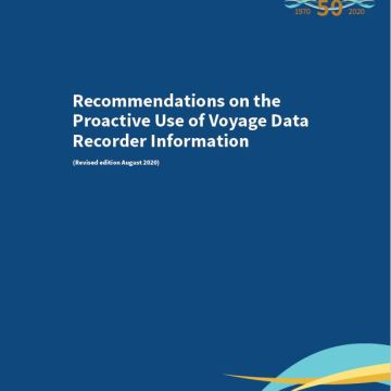 Proactive use of voyage data recorder information