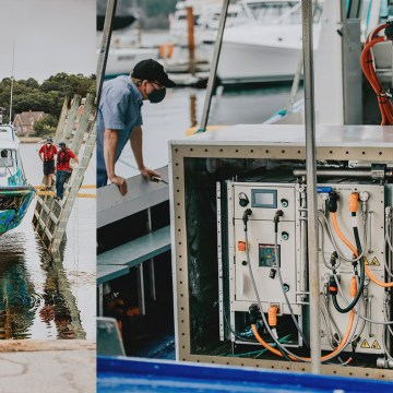 SPBES and Glas Ocean launch electric vessel