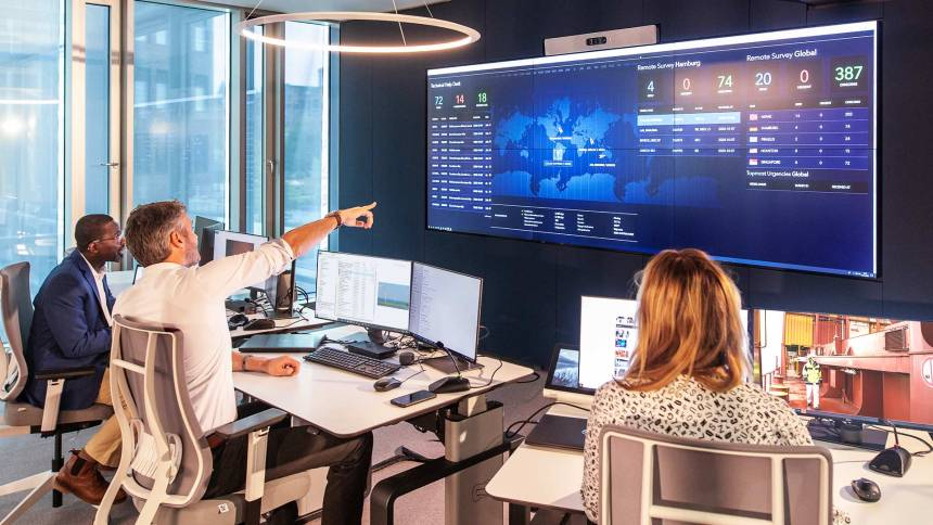 DNV GL launches operational centre in Hamburg to support remote services