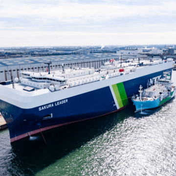 ClassNK grants first Digital Smart Ship notation for LNG-fuelled PCTC