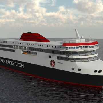 Isle of Man Ship Registry flags island's new diesel electric hybrid ferry