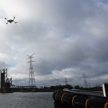 Port of Antwerp uses drones to monitor pollution