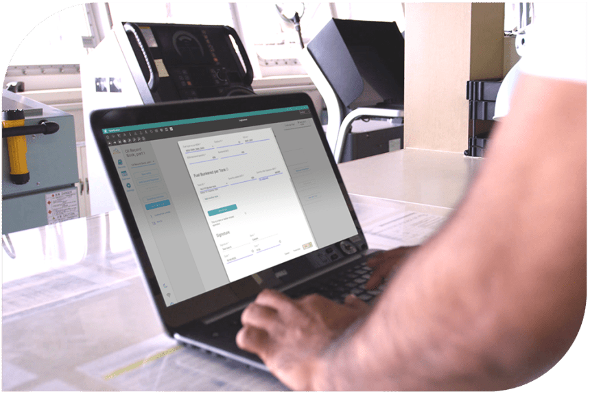 Connecting ship and shore with digital logbooks