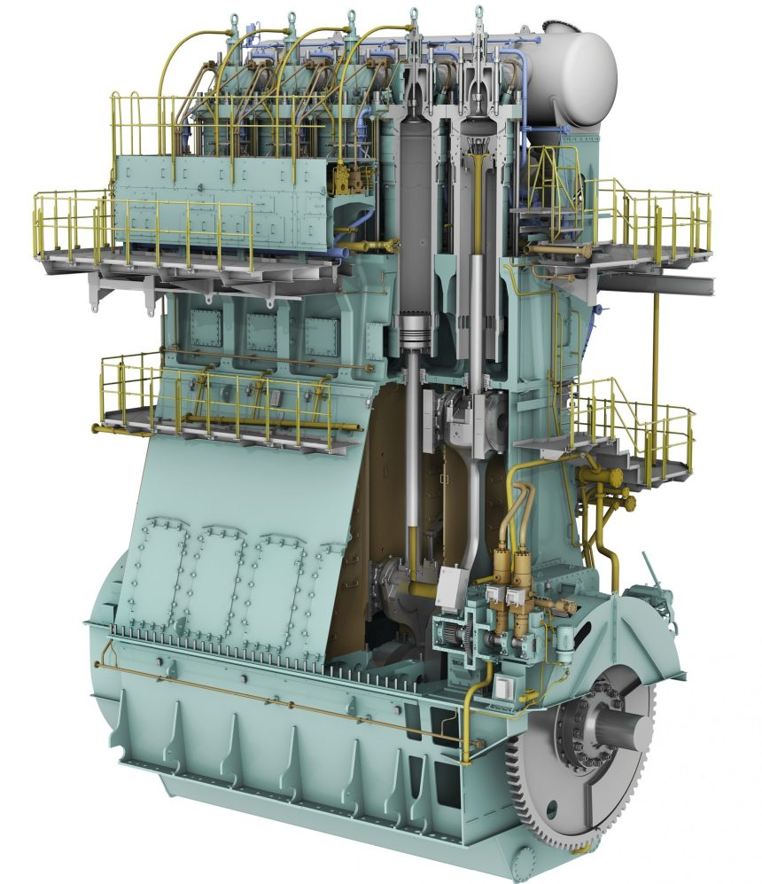 WinGD offers four new options of its X72DF dual-fuel engine