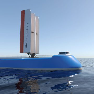 Windship Technology powers zero emission ship design
