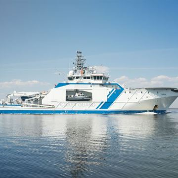 Wärtsilä tests Bio LNG with Finnish Border Guard