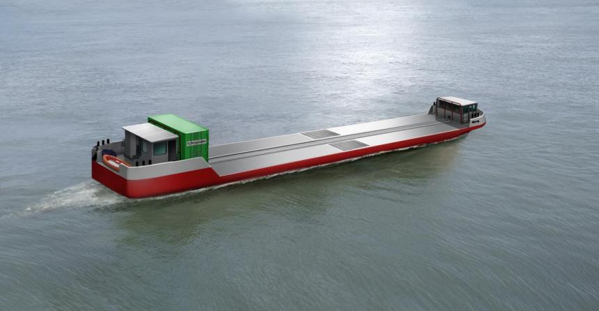 World's first hydrogen cargo vessel set for Paris debut
