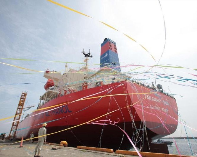 Methanol-powered ships could be more competitive than other alternative fuels