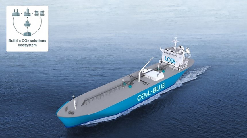 Mitsubishi and TotalEnergies study feasibility of liquified CO2 carrier