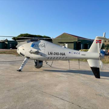 EMSA discovers SOx emission breaches using remotely piloted aircraft