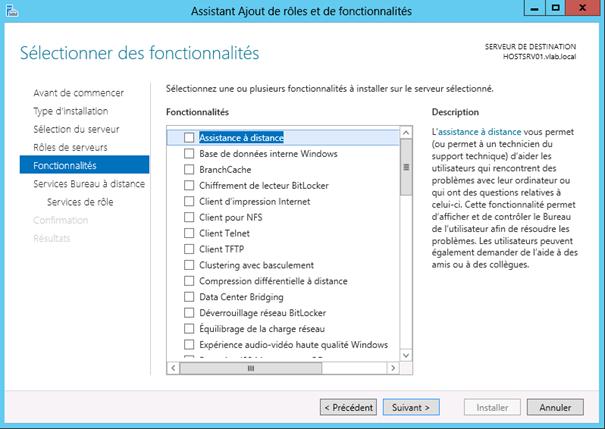 Windows server 2012 installation du r le de gestionnaire - Bureau a distance windows server 2012 ...