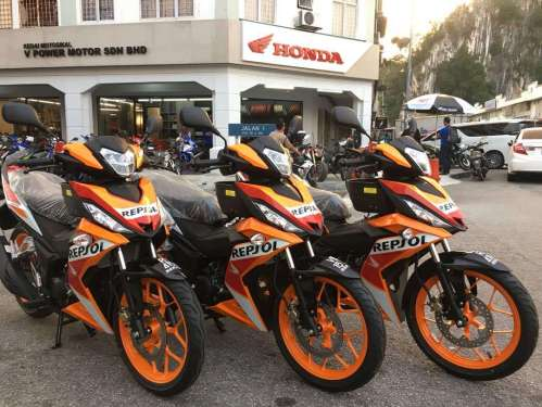small resolution of honda rs150r repsol