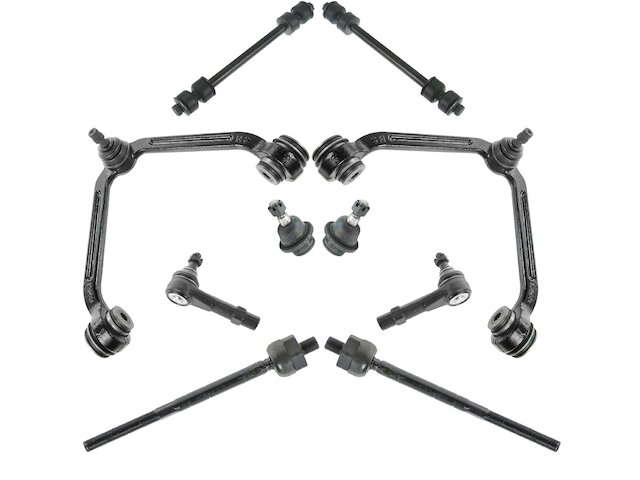 Control Arm Ball Joint Tie Rod End Kit For Explorer