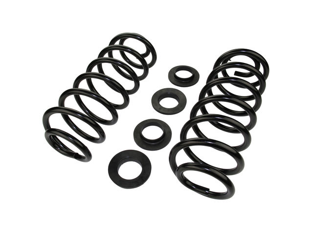 Rear Coil Spring Set For Lincoln Town Car Grand Marquis