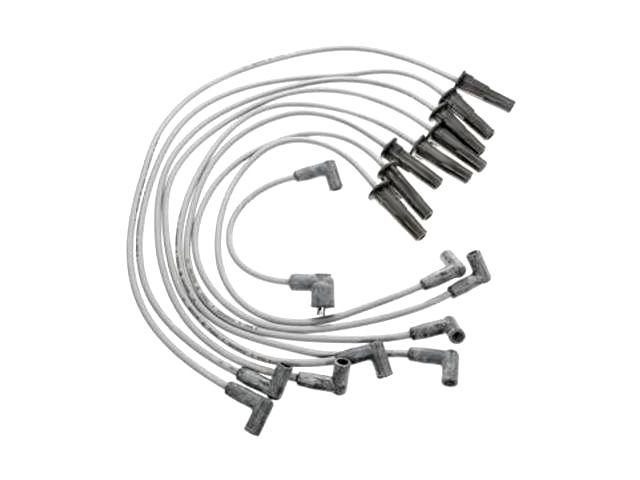 Spark Plug Wire Set For Bronco Custom 500 F100 F150 F250