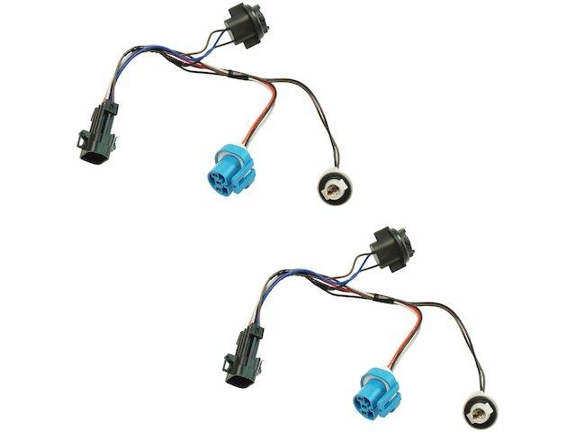 Headlight Wiring Harness Set For 05-09 Chevy Pontiac