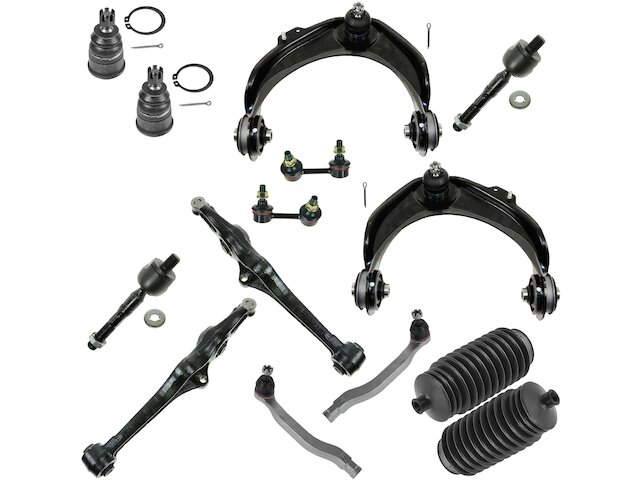 Control Arm Ball Joint Tie Rod End Kit For 98-02 Honda