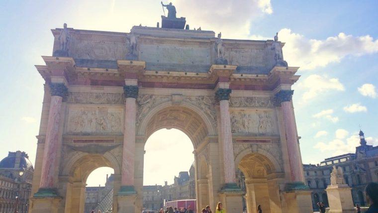 Jardin des Tuileries Arc de Triumph du Carrousel