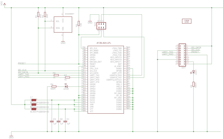 Wireless Router Schematic