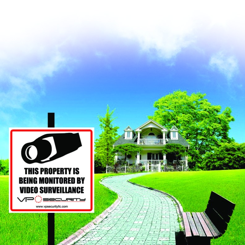 home warning sign