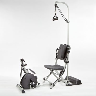resistance chair accessories black leather reception chairs the gym system free shipping 2 dvd 279 65