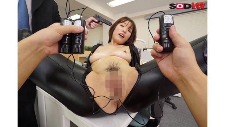女潜入捜査官梨々花が組織にバレて拘束玩具責めで発狂快楽堕ちしてSEXで中出しされちゃう