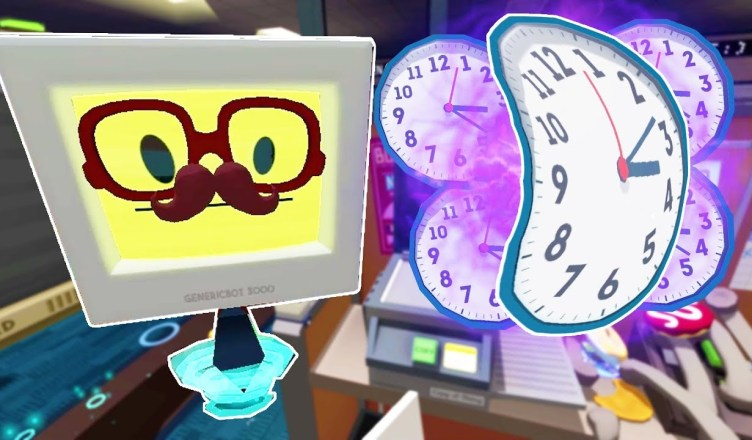 OFFICE BOT DISCOVERS TIME TRAVEL! – Job Simulator Infinite Overtime
