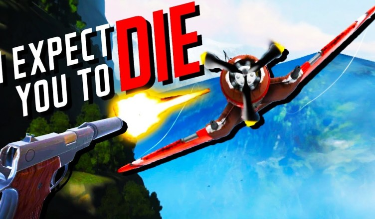 2f2b11d7e104 Shooting Planes and Solving Mysteries! – I Expect You To Die VR – Oculus  Rift VR