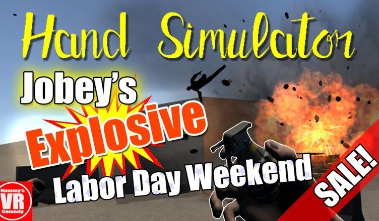 Hand Simulator – Jobey's Explosive Holiday Weekend Sale